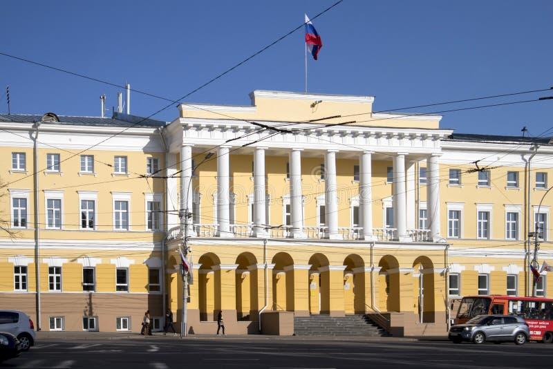 Minin f?r universitet f?r Kozma Minin Nizhny Novgorod tillst?nd pedagogiskt universitet arkivfoton