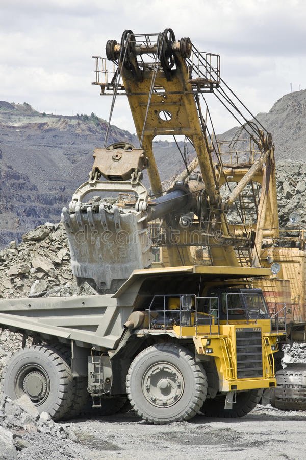 Download Mining stock image. Image of metal, heavy, landscape - 15474957