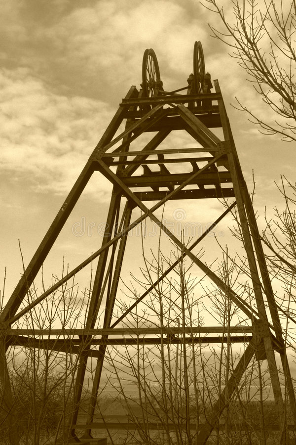 Download Mining Gear stock image. Image of derelict, obsolete, disused - 3043033