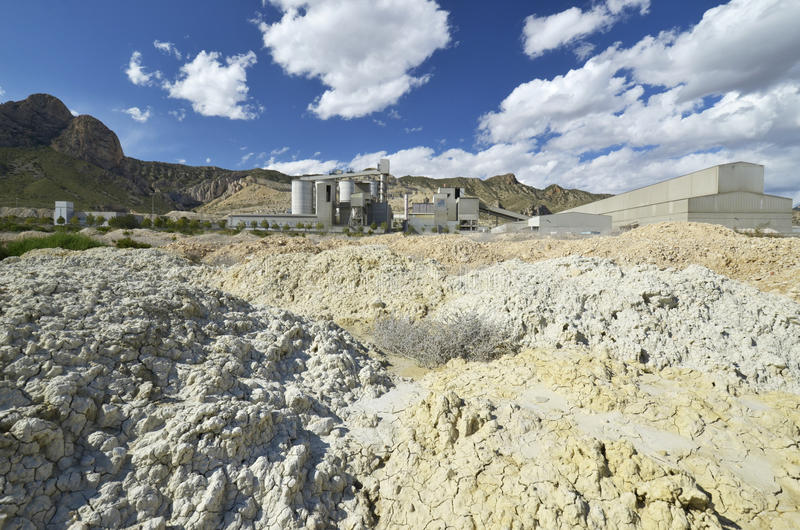 Download Mining with heaps stock photo. Image of industrial, loader - 24524244