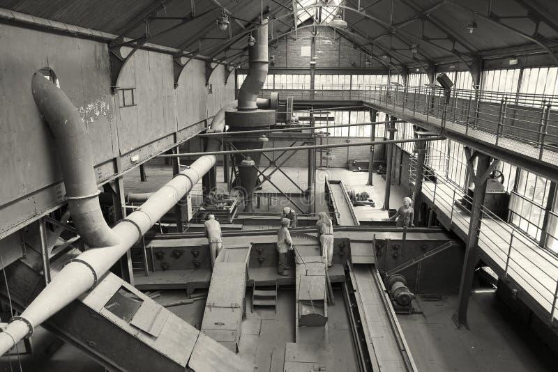 Mining History Centre of Lewarde stock photography