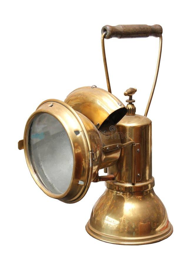 Mining lamp stock photos