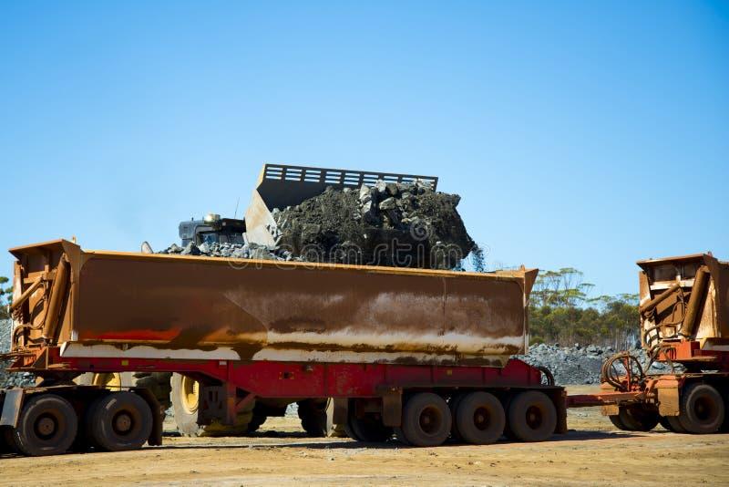 Mining Ore Loads royalty free stock image
