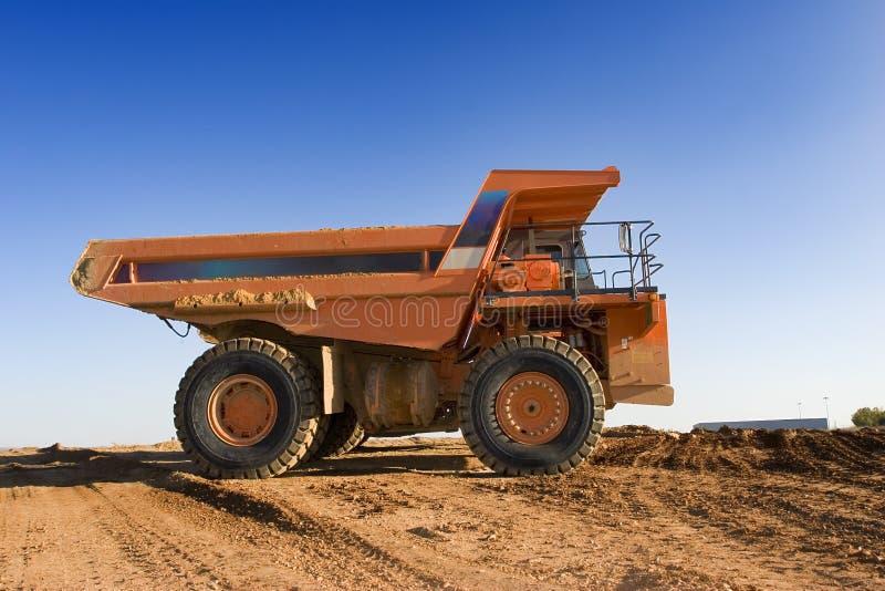 Mining truck stock image