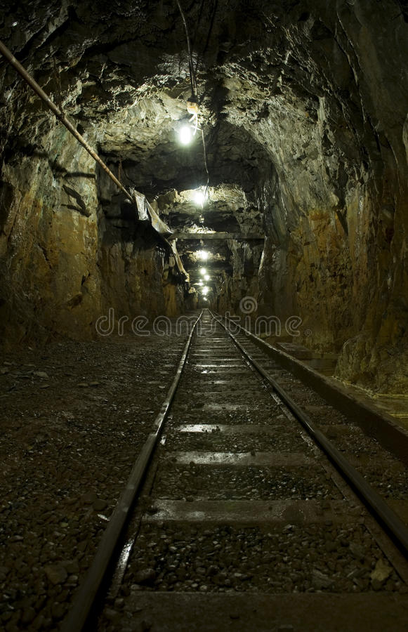 Download Mining Tunnel Underground Stock Photography - Image: 12354092