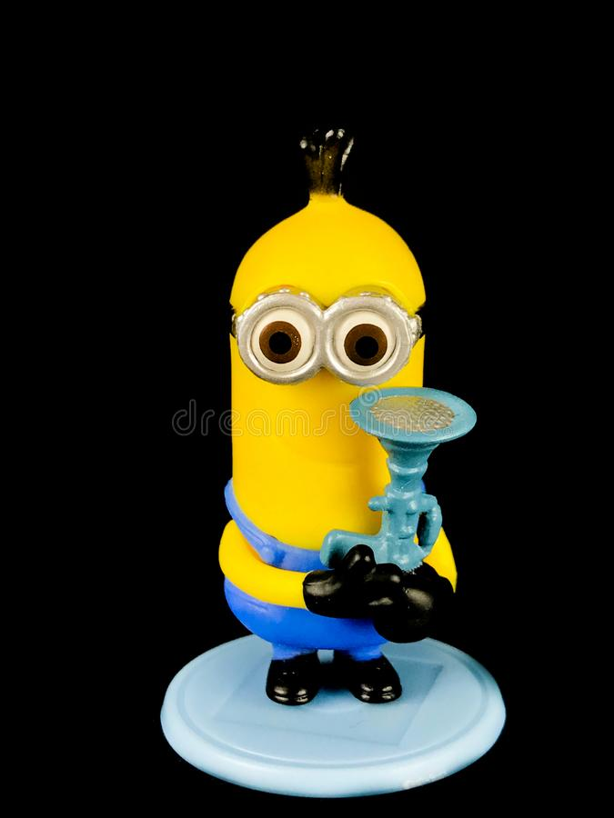 A Minion from Despicable Me Franchise royalty free stock images