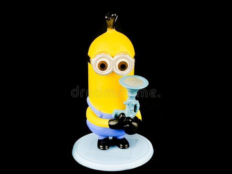 A Minion from Despicable Me Franchise royalty free stock photography