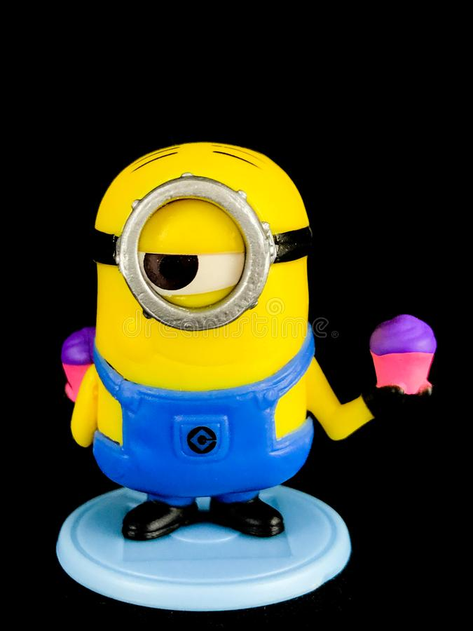 A Minion from Despicable Me Franchise stock photography