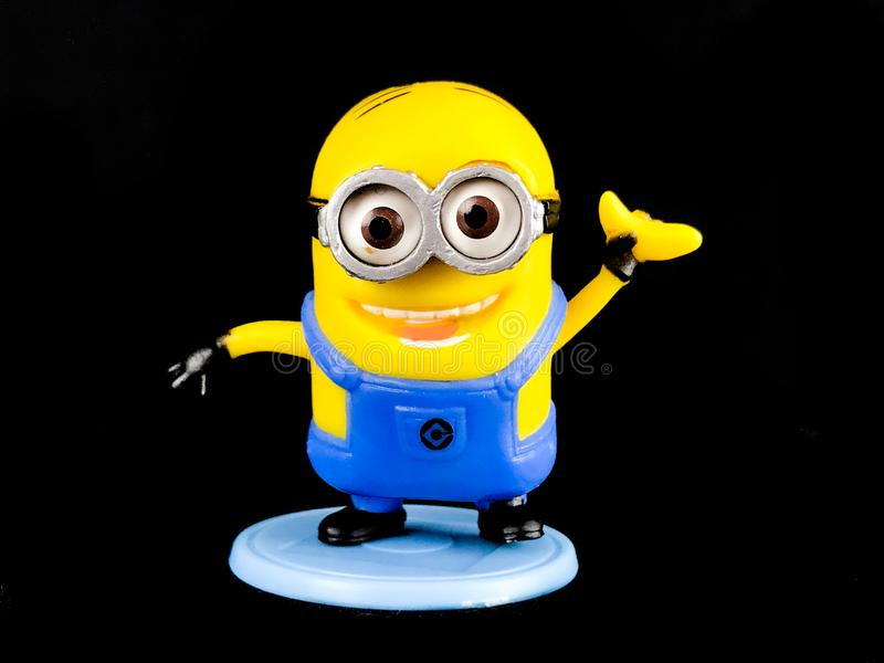 A Minion from Despicable Me Franchise stock image