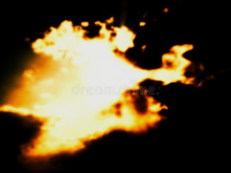 Minion of Light Dancing stock image