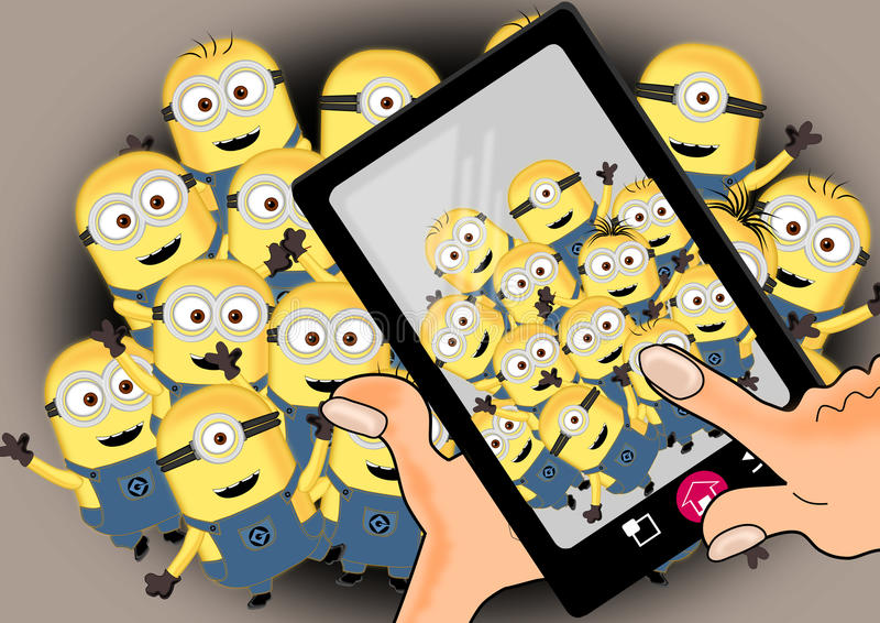 Download Minions On Crowd Editorial Stock Image - Image: 86249349