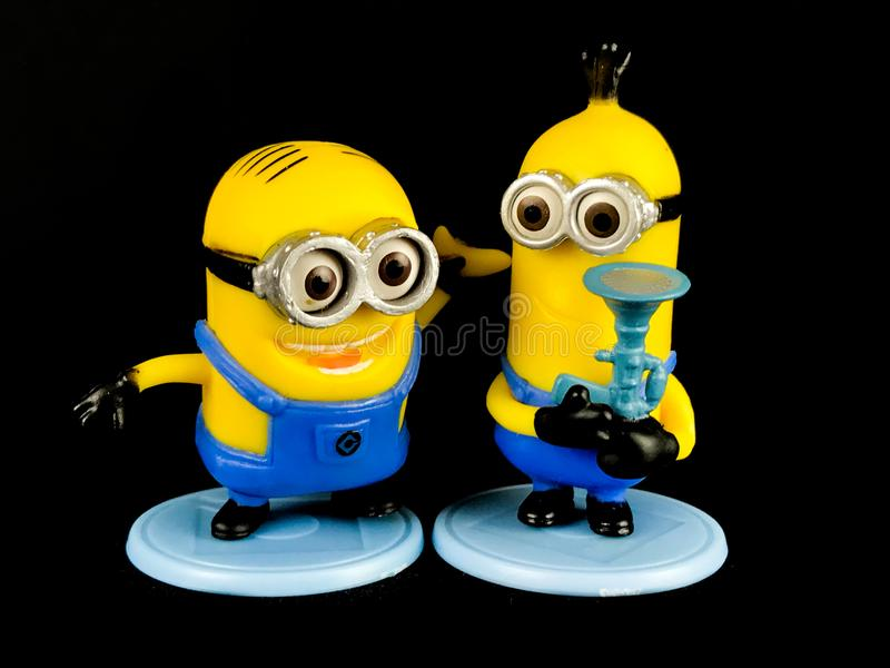 The Minions for Despicable Me Franchise stock images