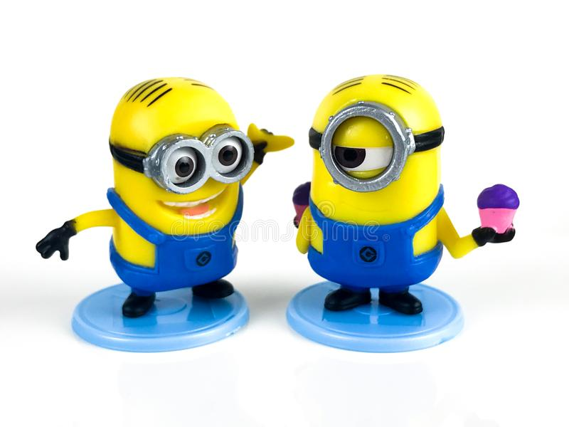 The Minions for Despicable Me Franchise royalty free stock photography