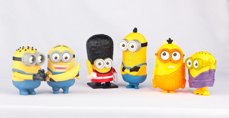 Minions Toy royalty free stock photography