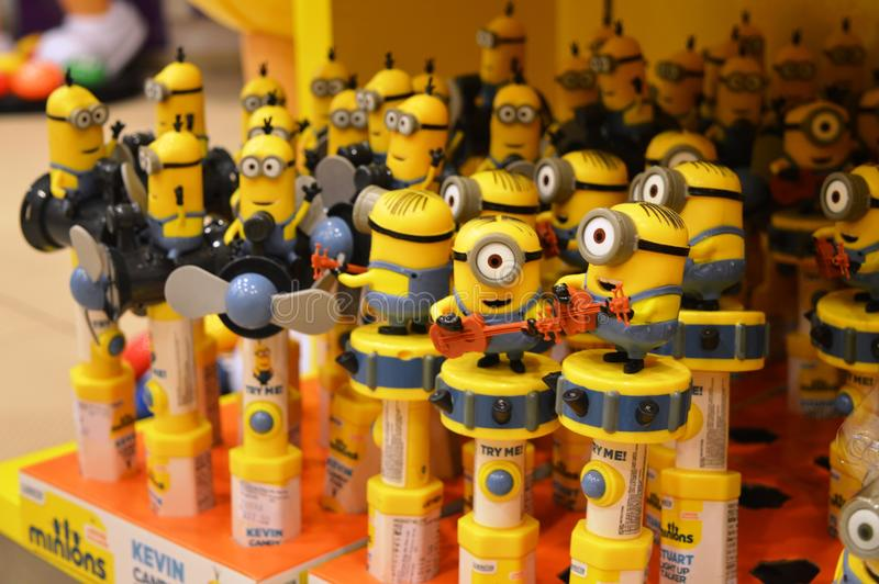 Download Minions Toy Candy Editorial Stock Photo - Image: 83700038