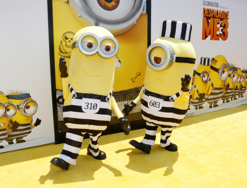 Minions royalty free stock photography