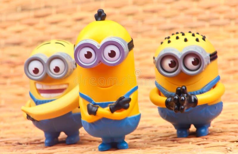Minionsstuk speelgoed royalty-vrije stock foto