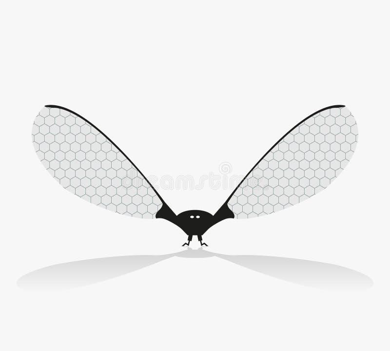 Minirobot royaltyfri illustrationer