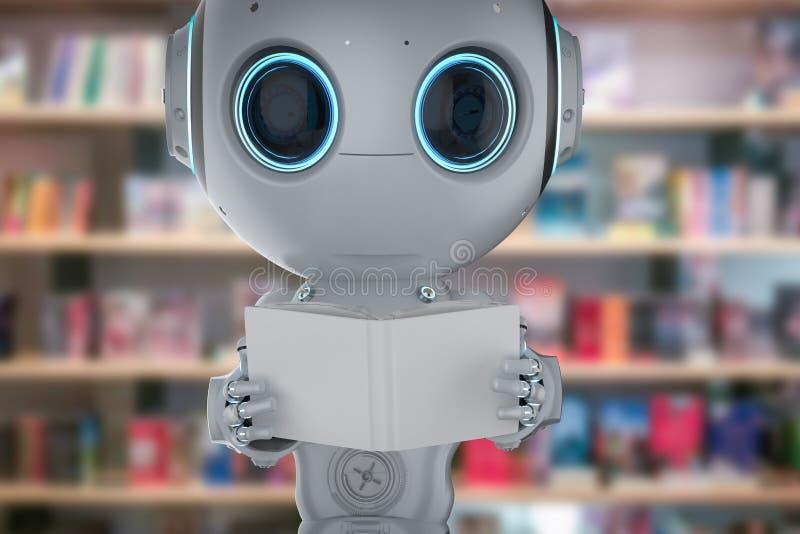 Miniroboterlernen stock abbildung