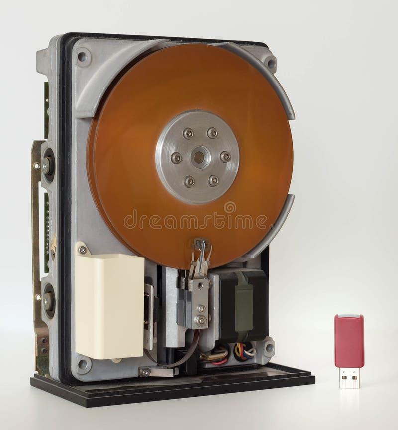 Miniscribe 2012 10 MB hard drive royalty free stock photo