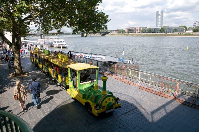 Miniserie - Besichtigungsausflug in Köln stockfotografie
