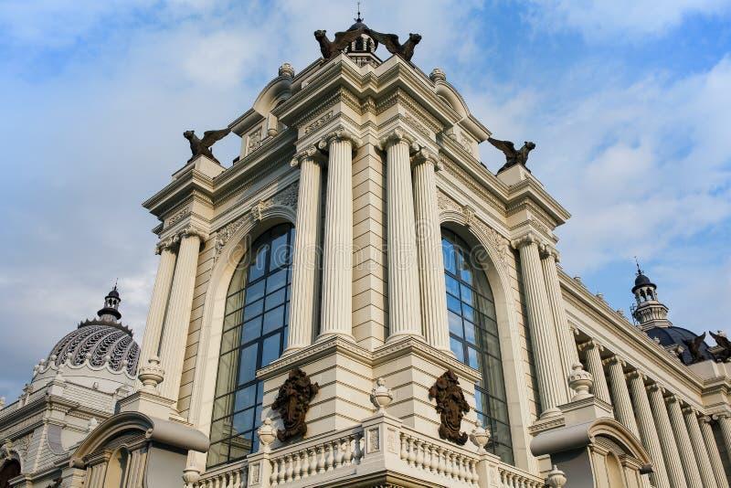 Ministère d'agriculture et de nourriture Palais des fermiers à Kazan photographie stock libre de droits