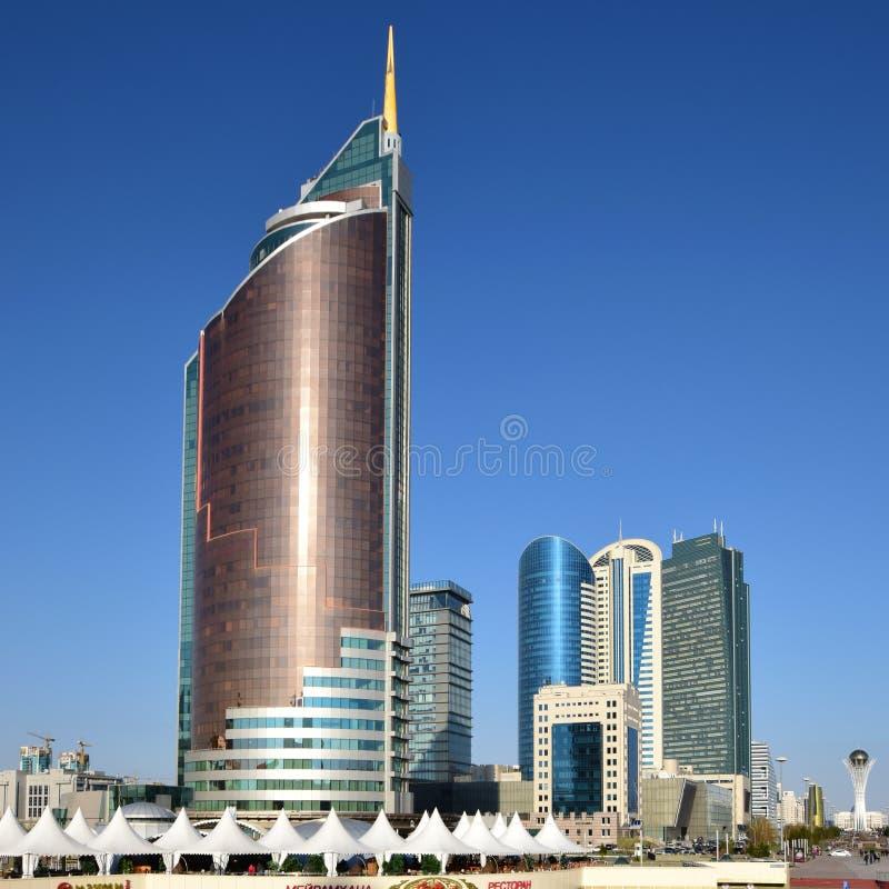 Ministère de transport à Astana photo libre de droits