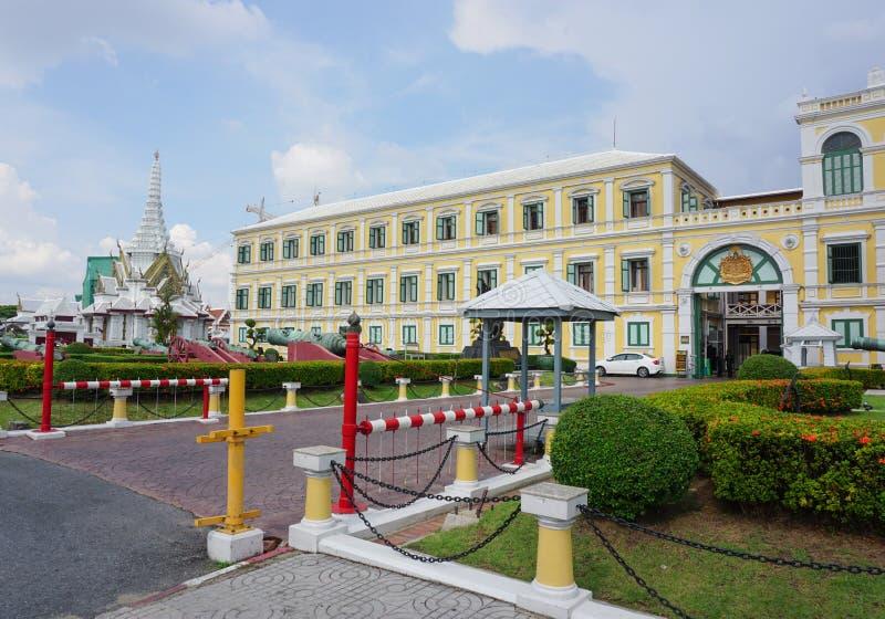 Ministério da construção da defesa em Banguecoque imagens de stock