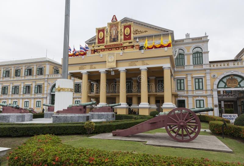 Ministério de defesa da construção de Tailândia foto de stock