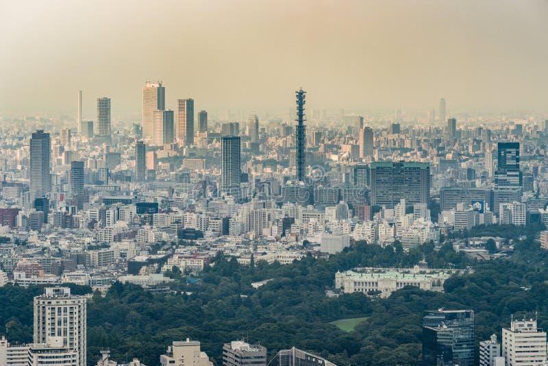 Ministério de Defesa e antena no Tóquio fotos de stock royalty free