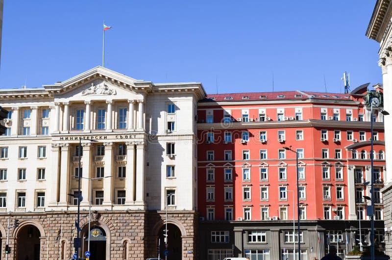 Ministério em Sófia, Bulgária fotos de stock royalty free