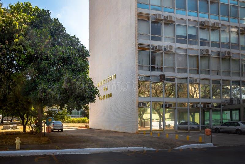 Minister Finansów - Brasilia, Distrito Federacyjny, Brazylia obrazy royalty free