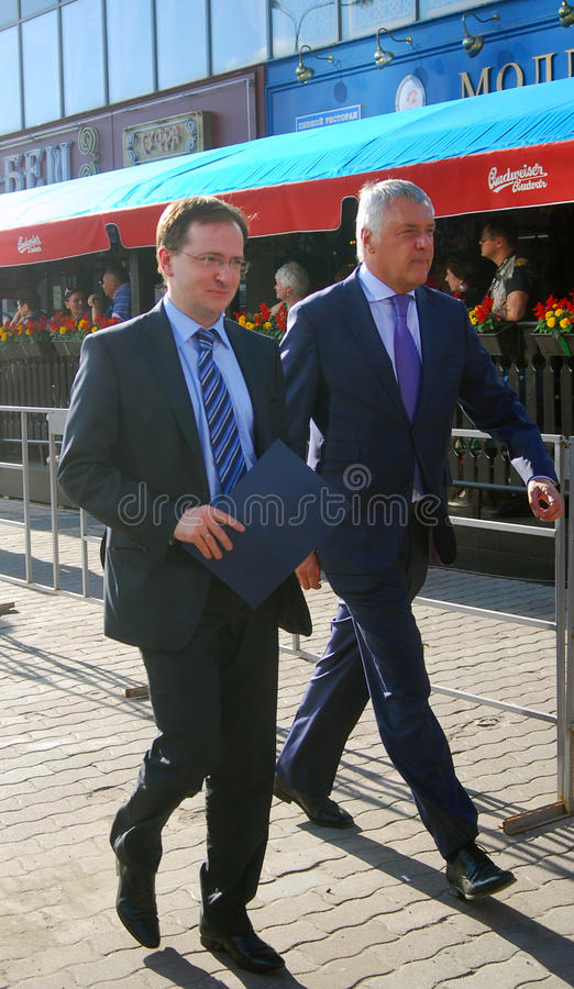 Download Minister Vladimir Medynski At Moscow Film Festival Editorial Stock Photo - Image of state, international: 25380313