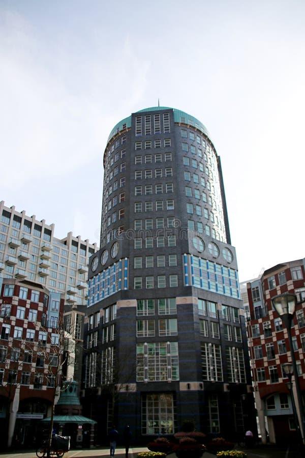 Ministerie gebouwen in het centrum van Den Haag The Hague als nieuwe bouw van de binnenstad royalty-vrije stock foto's