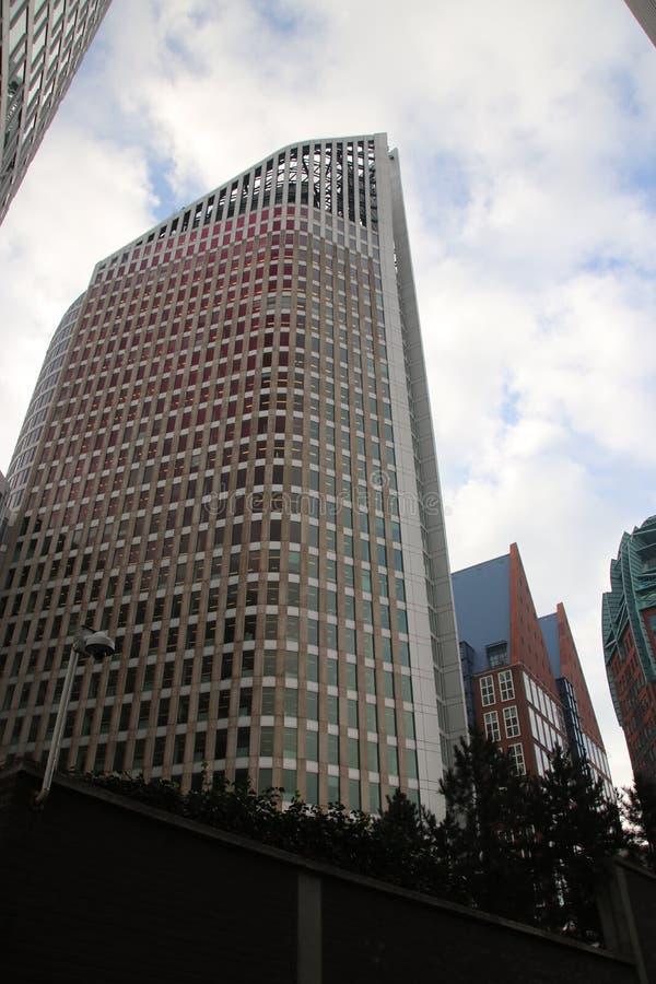 Ministerie gebouwen in het centrum van Den Haag The Hague als nieuwe bouw van de binnenstad stock foto