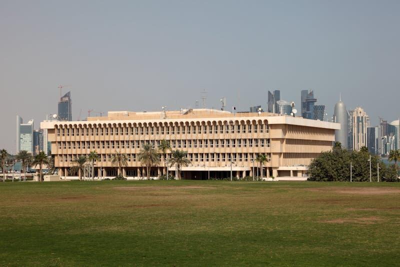 Ministerie van Binnenland in Doha, Qatar royalty-vrije stock foto