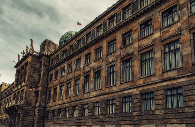 Ministerie van de Industrie en Handel in Praag royalty-vrije stock foto's