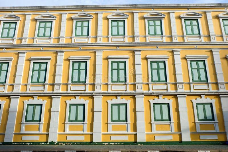 Ministerie van defensie, Al gesloten windows're stock afbeeldingen