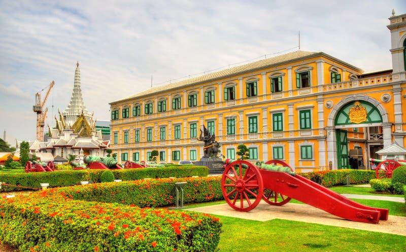 Ministerie van Defensie in Bangkok royalty-vrije stock fotografie