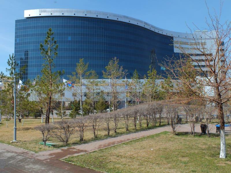 Ministerie van Financiën in Astana royalty-vrije stock foto's