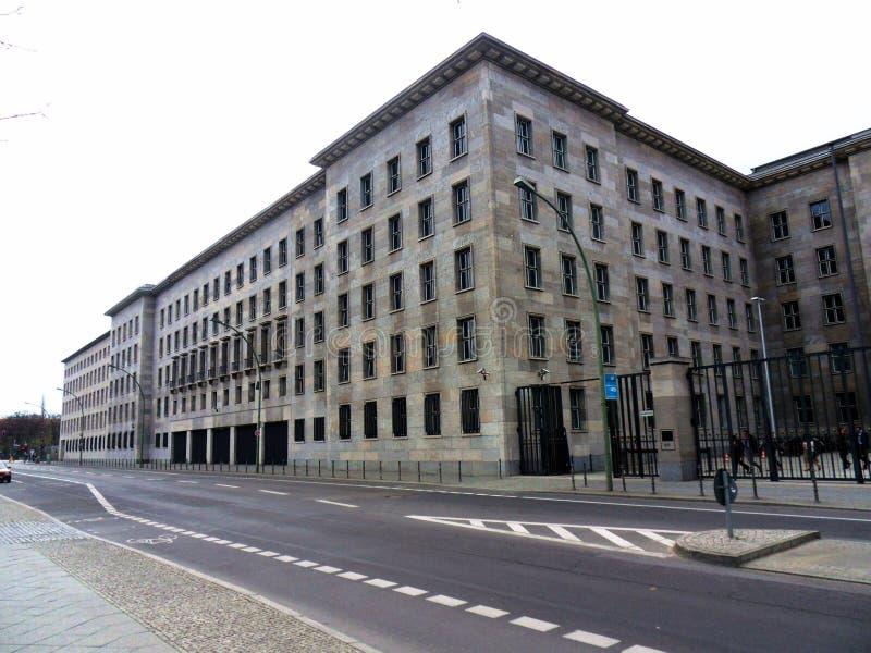 Ministerie van financiën-Wilhelmstraße royalty-vrije stock foto
