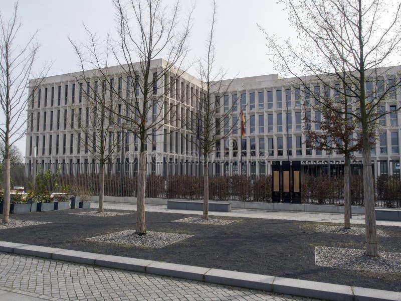 Ministerie van het Binnenland in Berlijn stock afbeelding