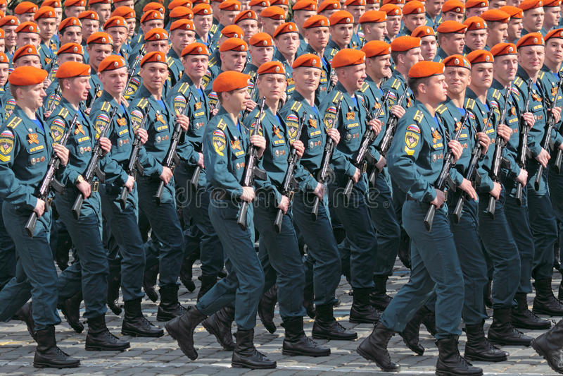 Ministerie van het leger van de Situaties van de Noodsituatie stock fotografie