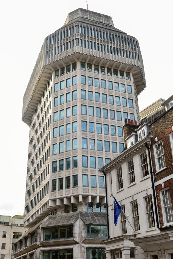 Ministerie van justitie - Londen stock foto