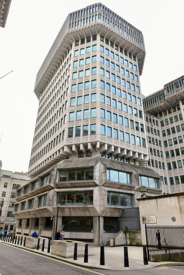 Ministerie van justitie - Londen royalty-vrije stock foto's