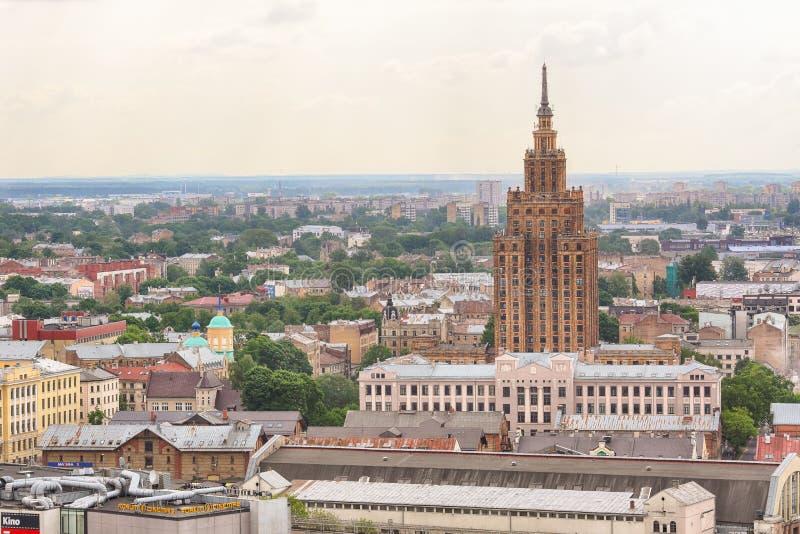 Ministerie van Landbouw de Bouw, Riga royalty-vrije stock afbeelding