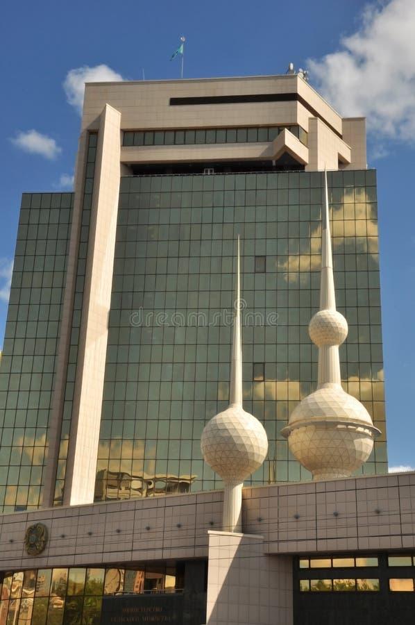 Ministerie van Landbouw van Kazachstan royalty-vrije stock afbeelding