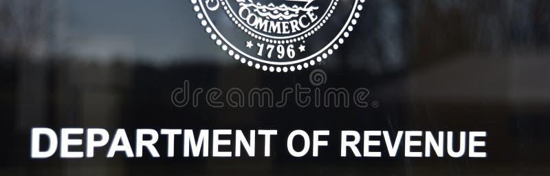 Ministerie van Opbrengst royalty-vrije stock foto's