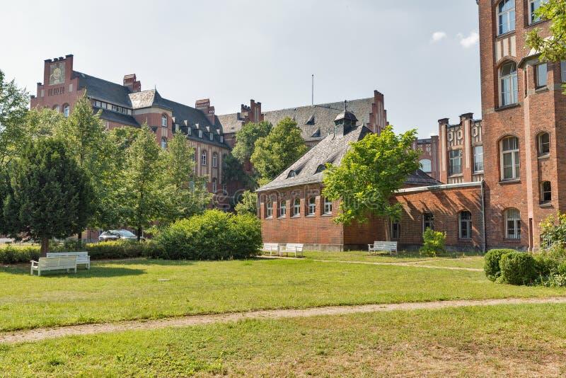 Ministerie van Psychiatrie en Psychotherapie in Berlijn, Duitsland stock afbeelding
