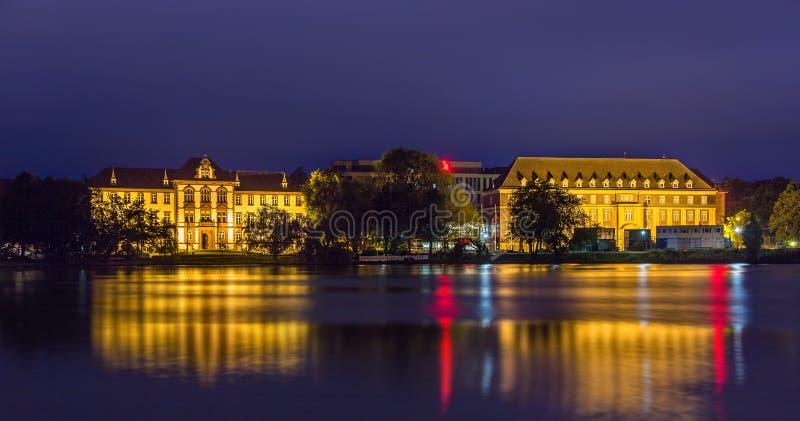 Ministerie van Rechtvaardigheid, Gelijkheid en Integratie in Kiel royalty-vrije stock afbeelding